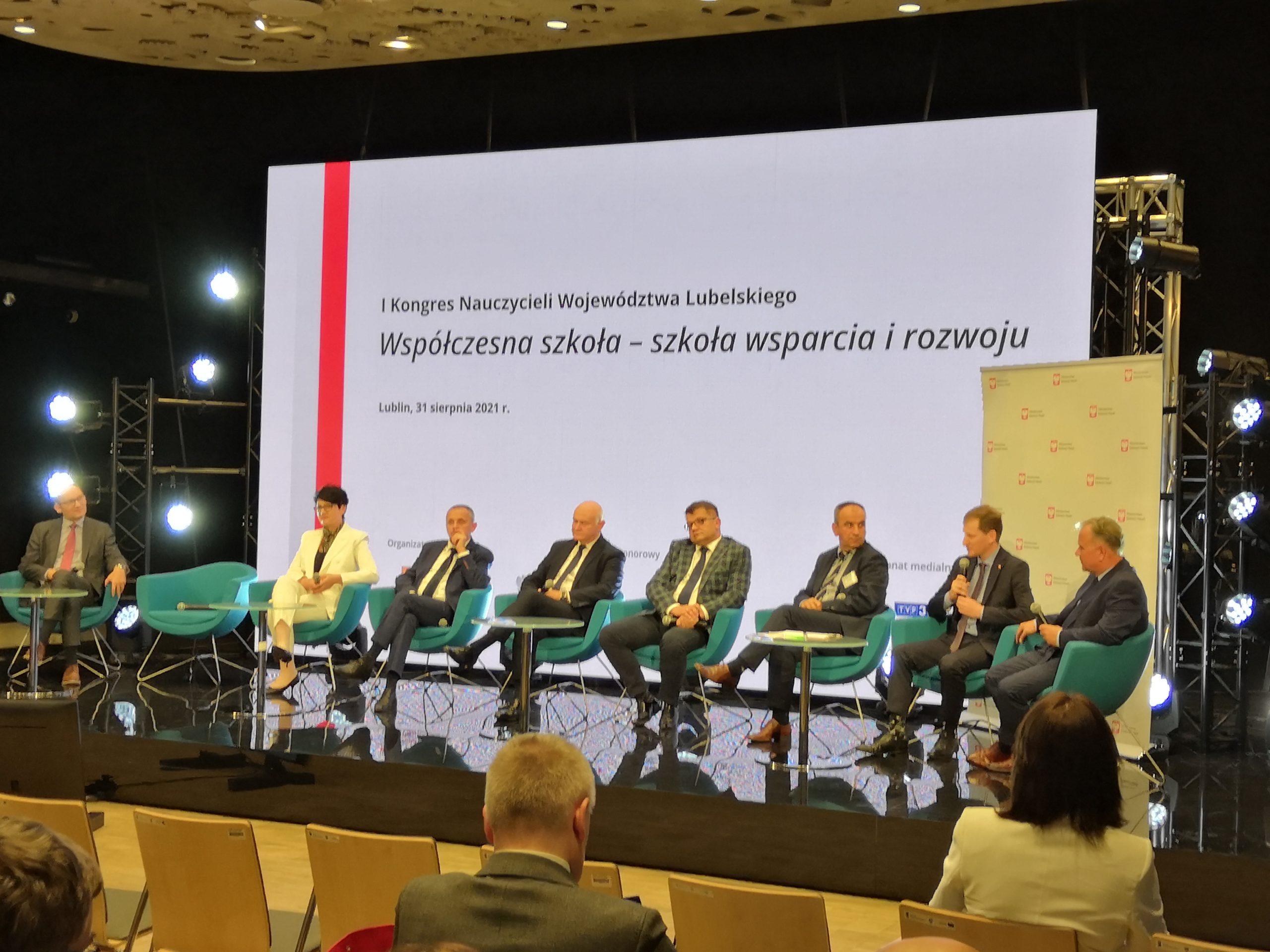 IBE na I Kongresie Nauczycieli Województwa Lubelskiego