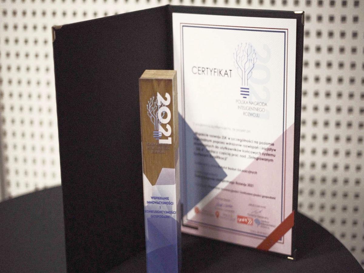 IBE otrzymał Polską Nagrodę Inteligentnego Rozwoju 2021