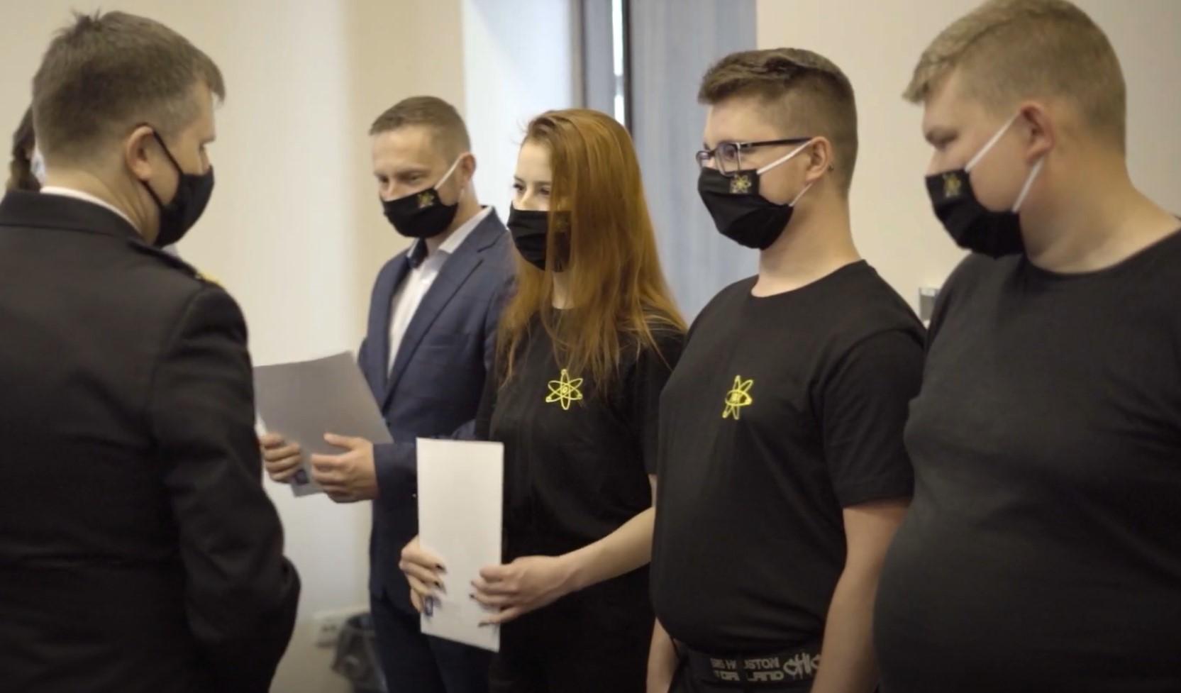 Wręczono certyfikaty z branży ochrony przeciwpożarowej