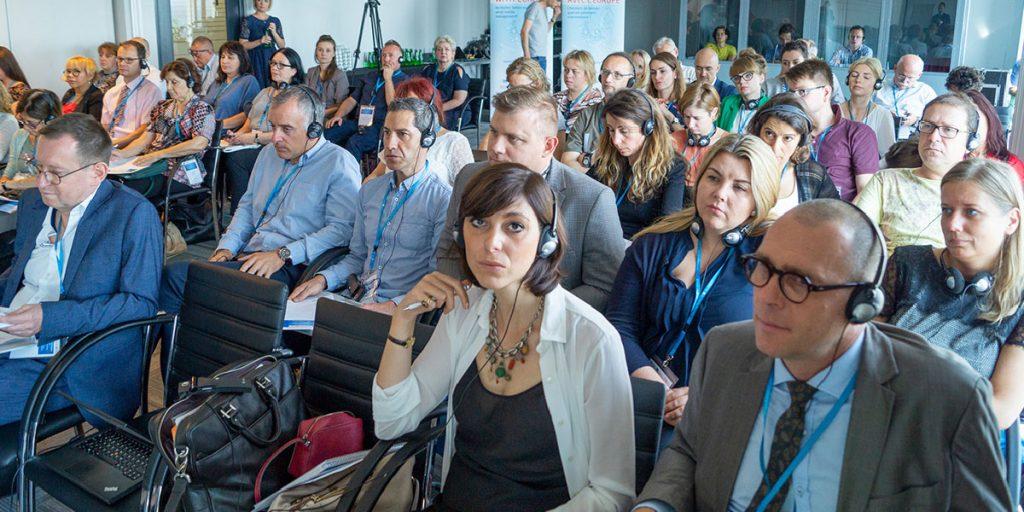 Osoby biorące udział w konferencji zakończenia projektu Constructy VET