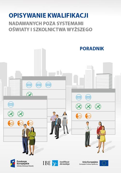 okładka publikacji Opisywanie kwalifikacji - poradnik