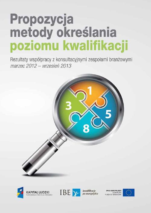 okładka publikacji Propozycja metody określania poziomu kwalifikacji