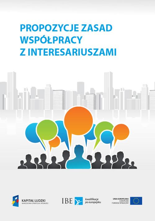 okładka publikacji Propozycje zasad wspólpracy z interesariuszami