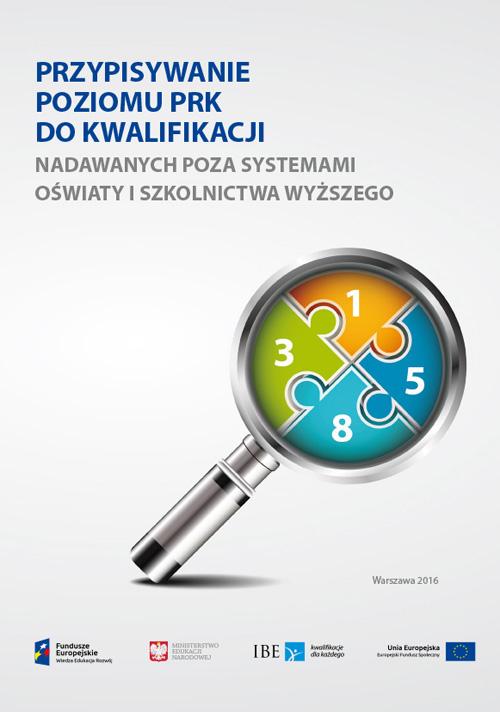 okładka publikacji Przypisywanie poziomu PRK do kwalifikacji poza systemem