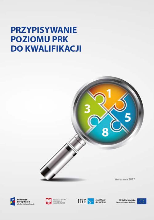 okładka publikacji Przypisywanie poziomu PRK do kwalifikacji