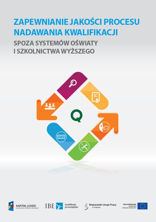okładka publikacji Zapewnianie jakości procesu nadawania jakości publikacji