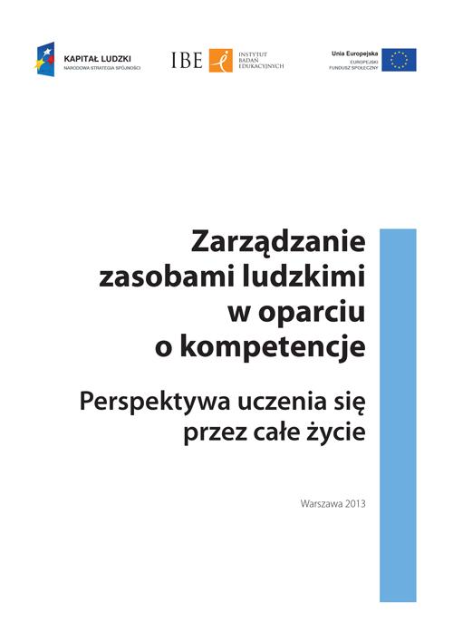 okładka publikacji Zarządzanie zasobami ludzkimi w oparciu o kompetencje