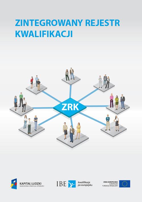 okładka publikacji Zintegrowany Rejestr Kwalifikacji